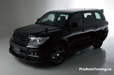 Тоета Land Cruiser 200 Black Bison