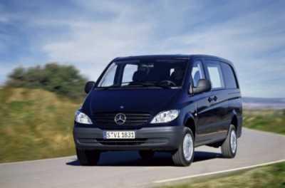 Вместительная Мерседес-Benz Vito