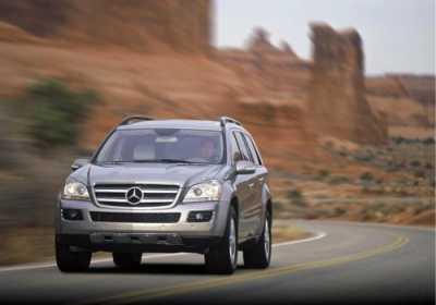Умеренный Мерседес-Benz GL
