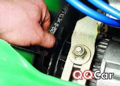 Ремень генератора ВАЗ 1111 (Ока) — аннотация по подмене
