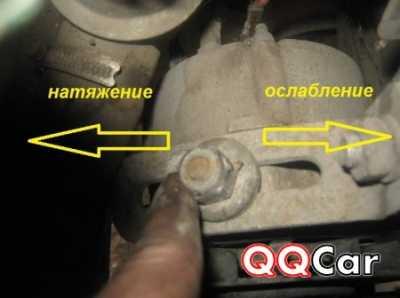 Как натянуть ремень генератора ВАЗ 2121 — фото