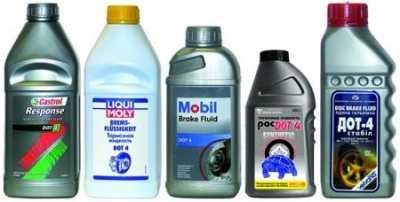 Как верно избрать тормозную жидкость
